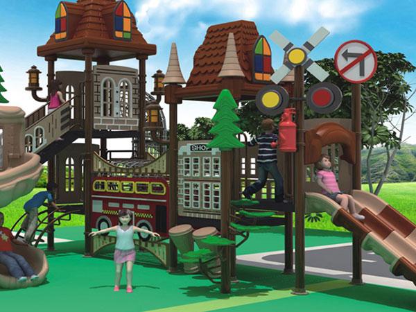 儿童乐园组合滑梯 公园小区小孩滑滑梯厂家可定制