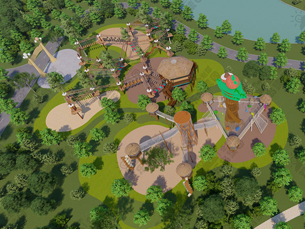 儿童公园设备工厂 主题公园规划设计