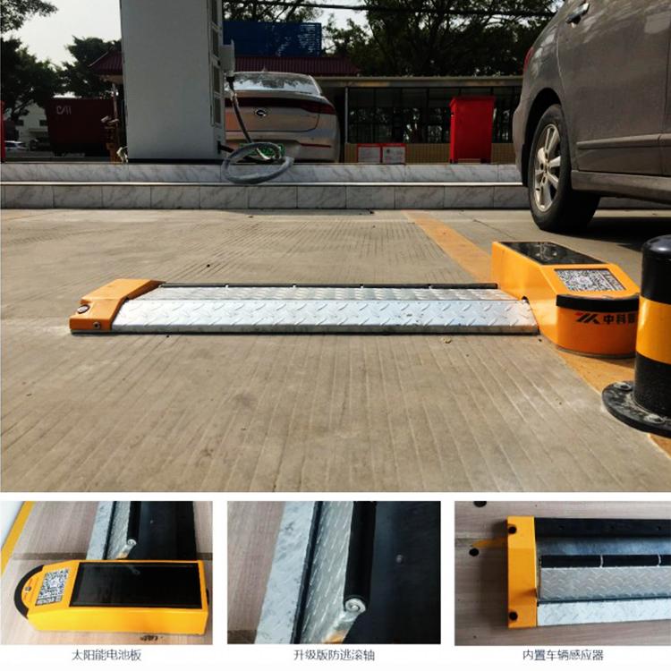 全国各地平板车位锁的安装案例