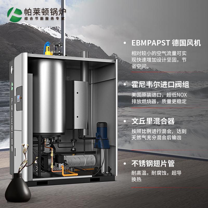 0.5吨贯流舱全预混蒸汽发生器