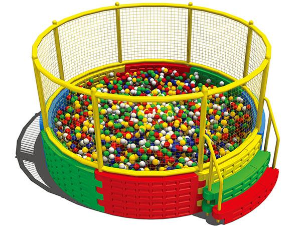 波波池 海洋球池厂家可定制 欢乐岛品牌