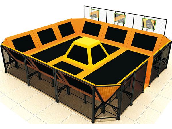 蹦床公园厂家 专业生产蹦床游乐设备公司批发直销