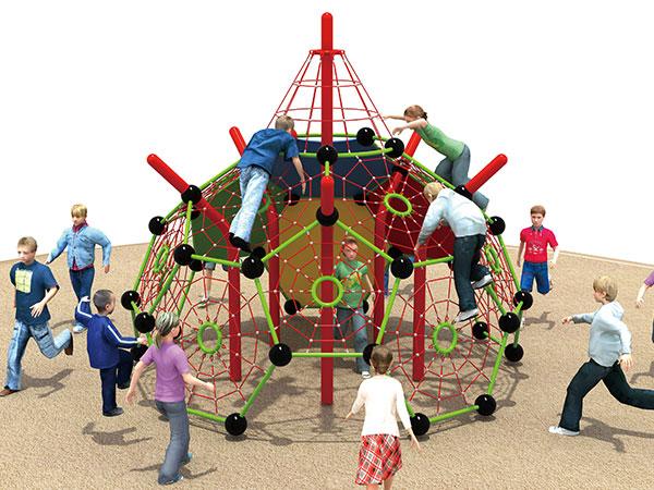 儿童户外拓展绳网攀爬 儿童攀爬架厂家批发直销