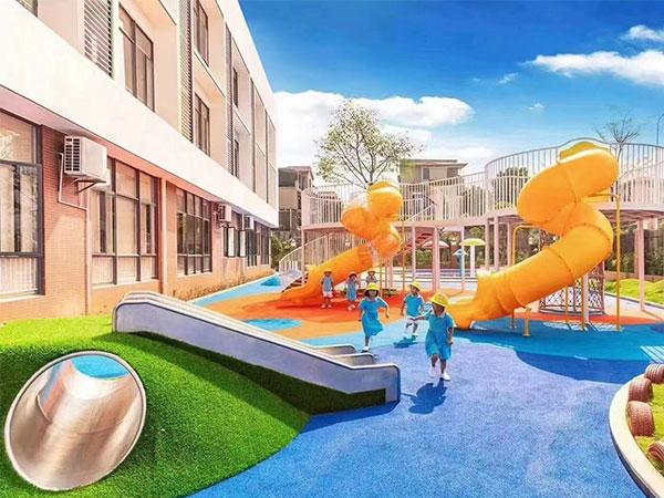 幼儿园户外游乐设备案例 早教儿童游乐设施案例