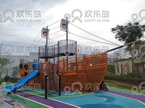 惠州惠东港口--非标定制海盗船游乐设备