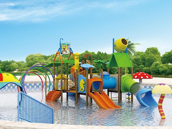 水上乐园 大型泳池儿童水上玩具 水寨厂家可定做