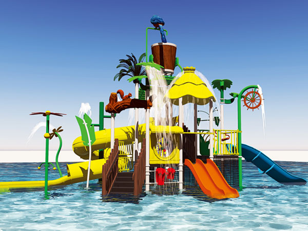 水上游乐设施厂家 水上乐园游乐设备可定做水寨水屋