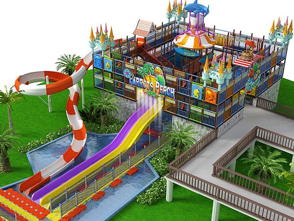 大型水寨 梦幻水世界水上乐园厂家可规划设计定做