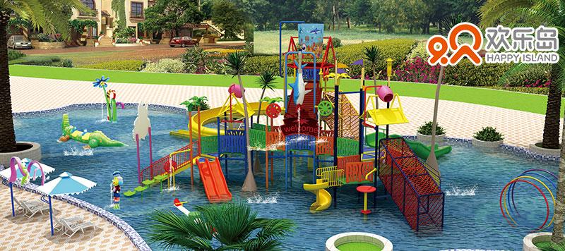 水上乐园设备 水屋 水寨