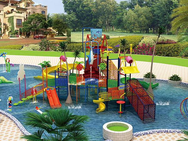 儿童水上乐园 水上王国游乐设备厂家可定做