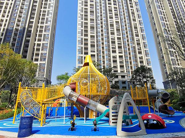 厦门小区无动力游乐设备案例 大型游乐设备定做