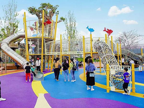 无动力乐园 无动力游乐设备 儿童滑梯生产厂家