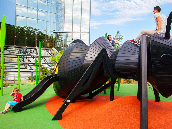 小蚂蚁无动力游乐设备厂家可定做儿童乐园公园房地产