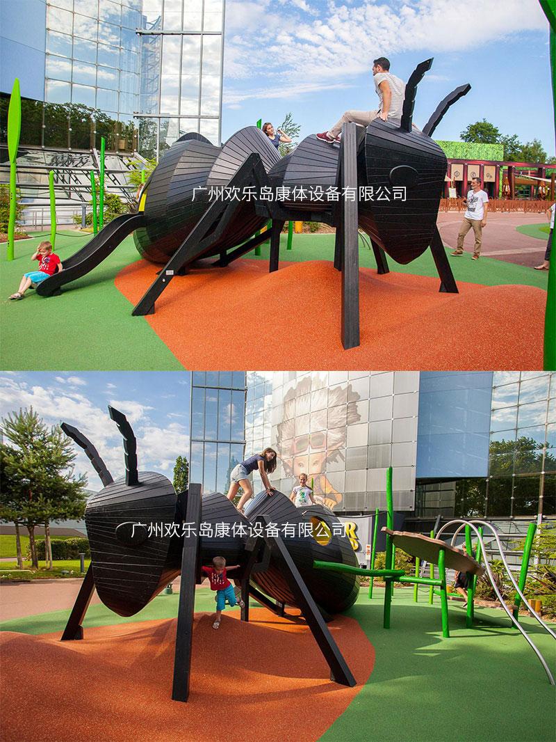 无动力游乐设备蚂蚁造型