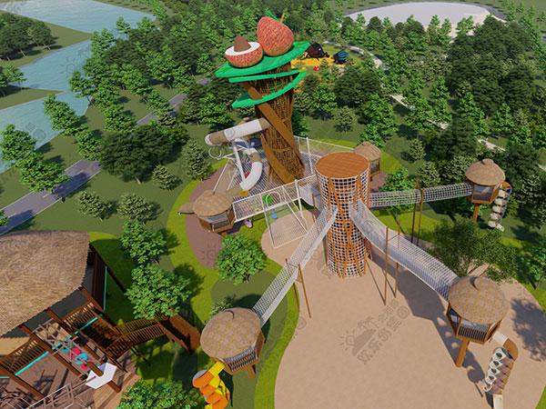 儿童公园设备工厂 无动力乐园主题公园规划设计