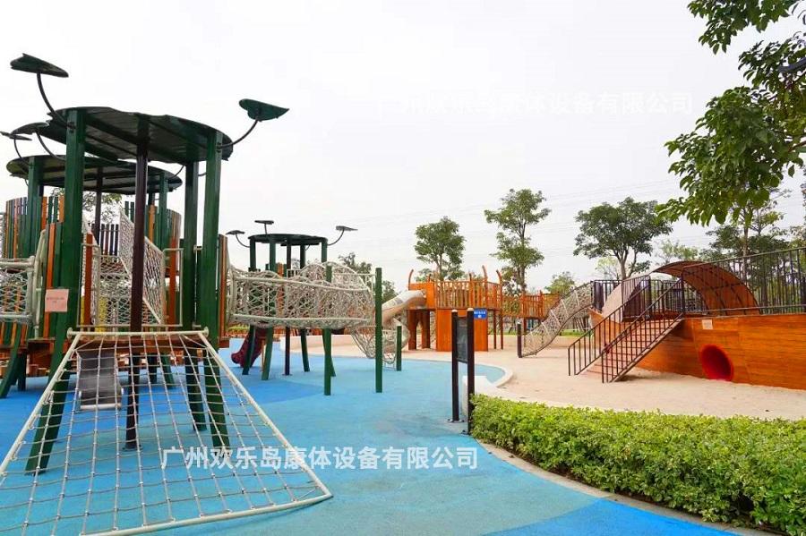 中山公园滑梯