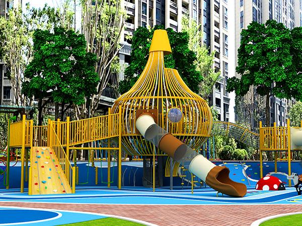 无动力乐园设计规划 小区无动力游乐设备方案
