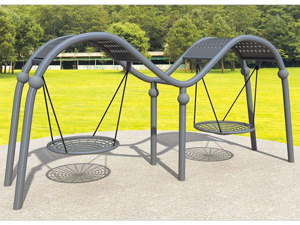 儿童秋千户外庭院室外网红秋千支架吊篮椅厂家可定做