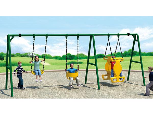多功能秋千厂家可定做 公园小区健身器材不锈钢秋千