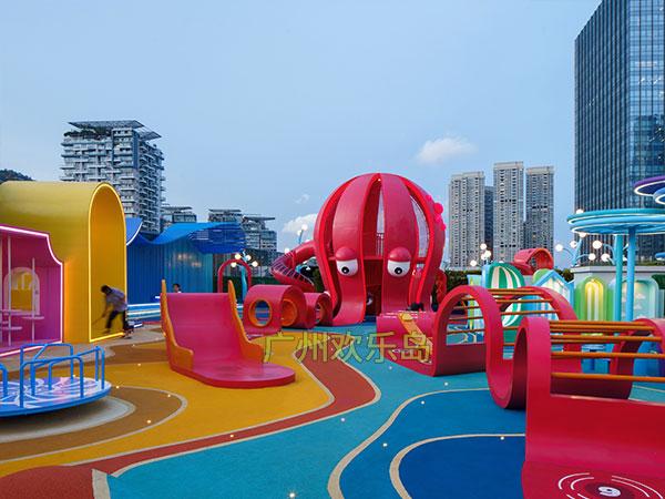 章鱼滑梯 不锈钢滑梯章鱼造型儿童游乐设备厂家可定做
